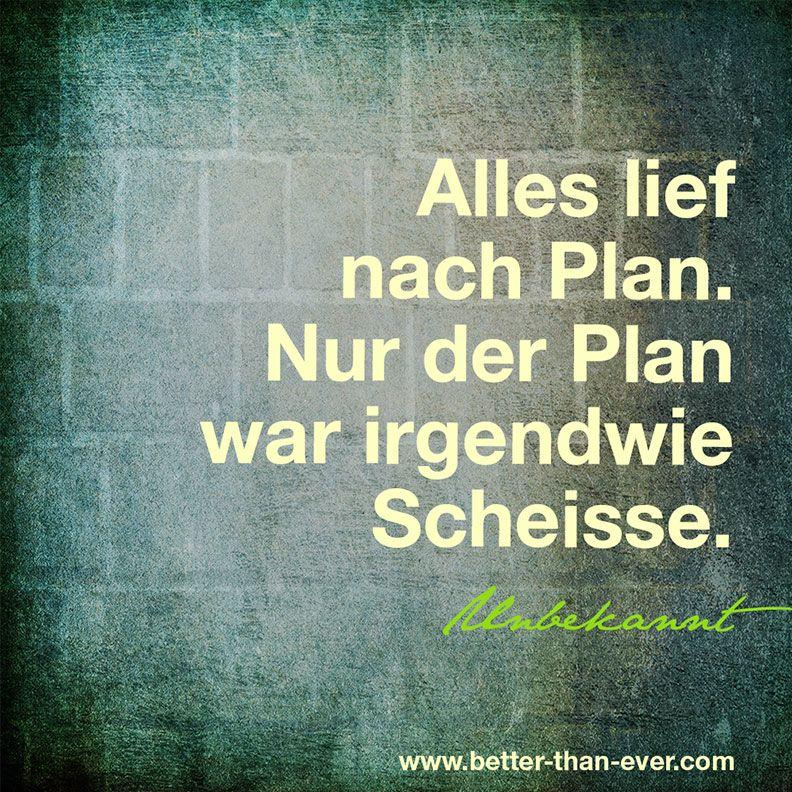 Alles lief nach Plan …