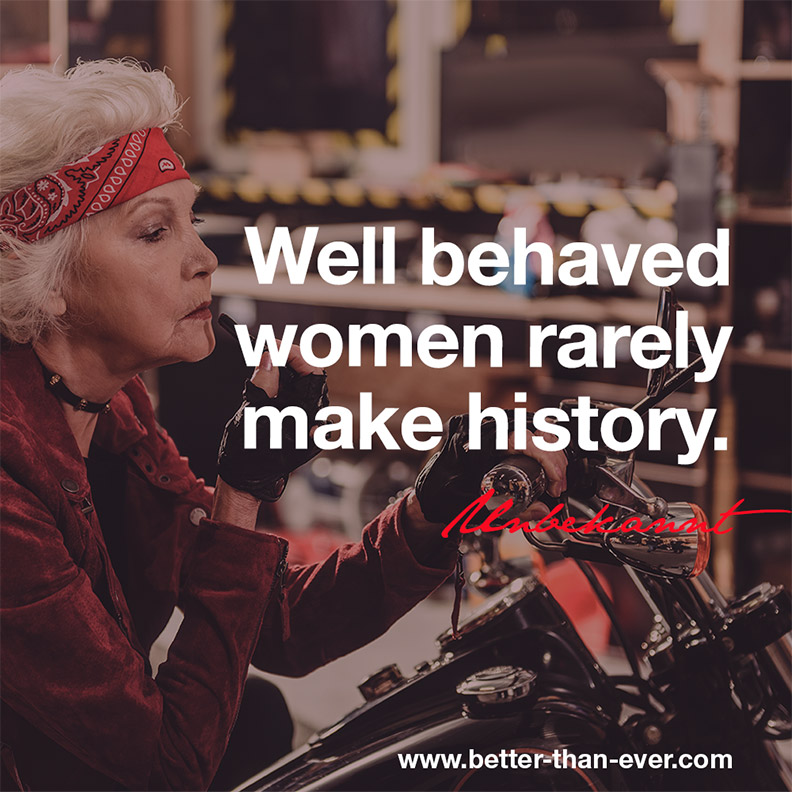 well behaved women rarely make history Shop for the perfect well behaved women rarely make history gift from our wide selection of designs, or create your own personalized gifts.