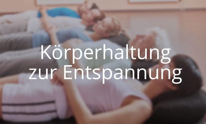 Online-Kurs Körperhaltung zur Entspannung