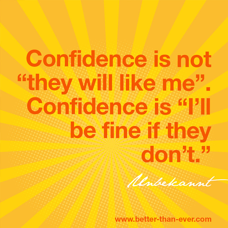 Confidence is not